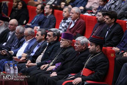 نشست شهردار تهران با رهبران دینی و شهروندان مسیحی