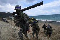 مانور نظامی مشترک آمریکا و کره جنوبی آغاز شد