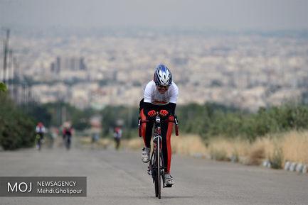 مسابقات کشوری دوچرخه سواری بانوان