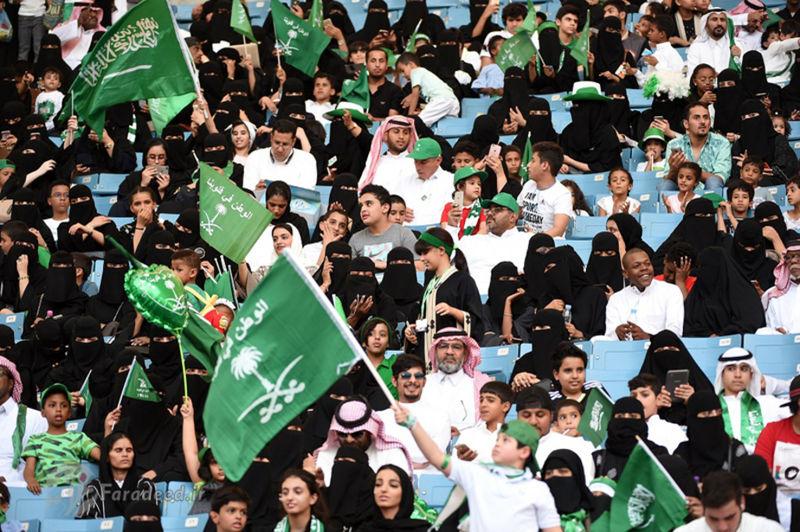 ممنوعیت پوشیدن لباس آستینکوتاه در استادیومهای عربستان