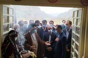 افتتاح مدرسه سه کلاسه شهید ابراهیم گاوکش با مشارکت بانک مسکن شهرستان پلدختر