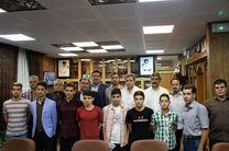 تقدیر از مدالآوران شنای کرمانشاه در مسابقات کشوری