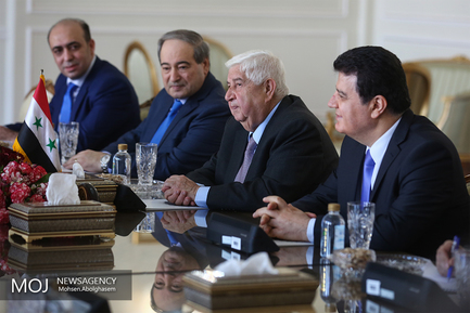 دیدار وزرای خارجه ایران و سوریه