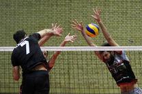 نبرد والیبال تهران و ارومیه در خانه والیبال