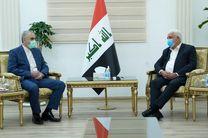 دیدار رئیس حشد الشعبی با معاون وزیر دفاع ایران در عراق
