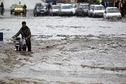رگبار شدید و سیلاب در هرمزگان/ جلوگیری از تردد در حاشیه رودخانه ها