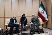 دیدار معاون وزیر دفاع سوریه با امیر حاتمی
