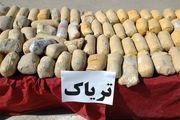 کشف 123 کیلو تریاک از یک کامیون کشنده در اصفهان / دستگیری 2 نفر توسط نیروی انتظامی