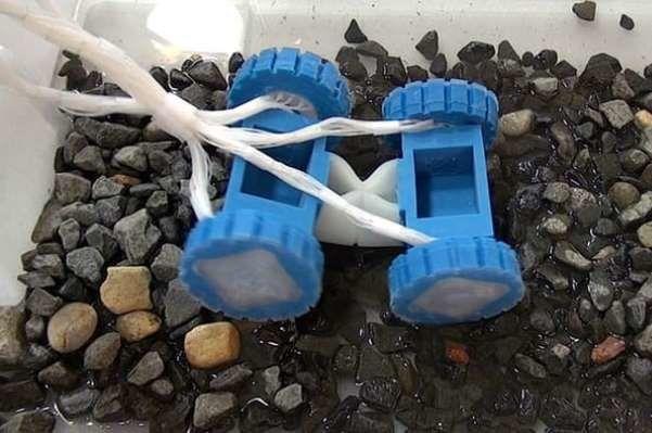 ربات کاملا پلاستیکی ساخته شد