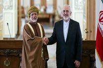 وزیر امور خارجه ایران و عمان در تهران دیدار کردند