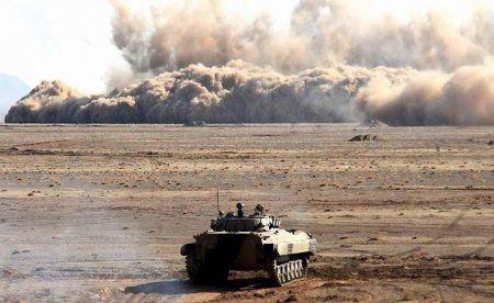 رزمایش پیامبر اعظم (ص) 11 نیروی زمینی سپاه آغاز شد