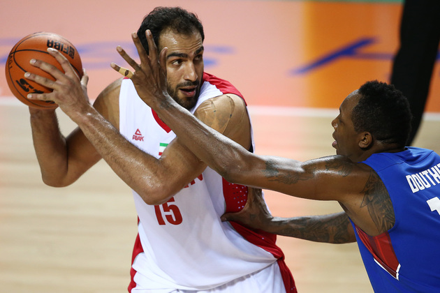 حامد حدادی با تاخیر به جمع ملی پوشان بسکتبال اضافه شد