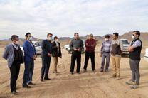 پیشرفت 49 درصدی سایت انرژی خورشیدی روستای کوشک بافق