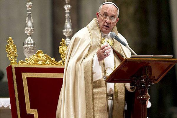 هشدار پاپ فرانسیس درباره فروپاشی اتحادیه اروپا