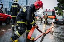 پوشش 17 مورد حریق و حادثه توسط تیم های امداد و نجات آتش نشانی رشت