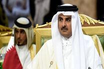 امیر قطر مرگ برادر پادشاه عربستان را تسلیت گفت