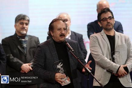 اختتامیه سی و هشتمین جشنواره فیلم فجر- نیما جاویدی و مجید مجیدی