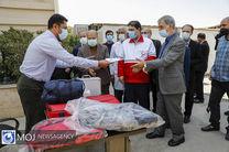 بازدید اعضای ستاد مقابله با کرونا از مرکز واکسیناسیون هلال احمر