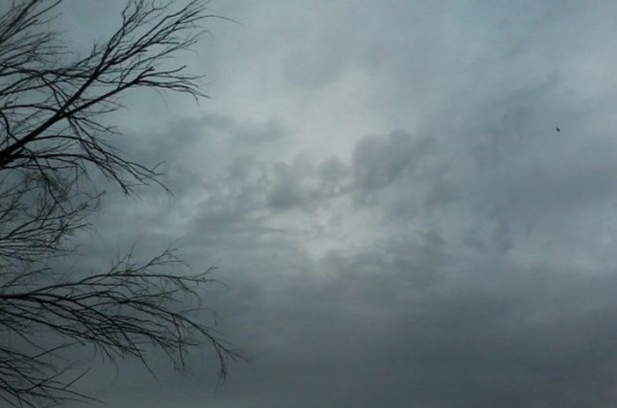 رشد ابر و رگبار پراکنده باران در ارتفاعات