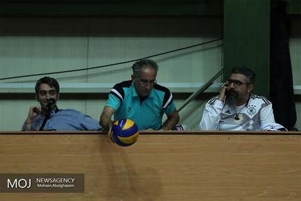 دیدار تیم های والیبال سایپا و کاله مازندران