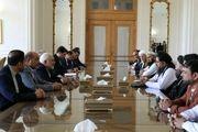 رییس مجلس سنای افغانستان با ظریف دیدار کرد