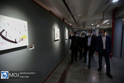 افتتاح نمایشگاه و همایش بین المللی خوشنویسی