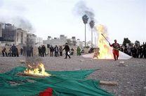 خیمه سوزی در کرمانشاه ممنوع شد