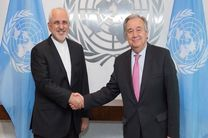 نامه ظریف به گوترش در راستای توقف تروریسم اقتصادی بود/ هیچ پولی در اختیار ایران قرار نخواهد گرفت