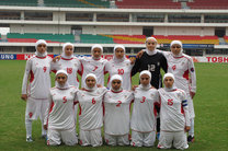 برابری یک-یک تیم ملی فوتبال دختران ایران  با اسلوونی