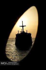 کشتی یونانی در جزیره کیش