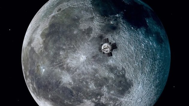 """""""مون اکسپرس"""" به دنبال بهرهبرداری تجاری از صخرههای ماه"""