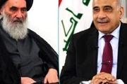 آیت الله سیستانی درخصوص اعتراضات عراق به عادل عبدالمهدی هشدار داد