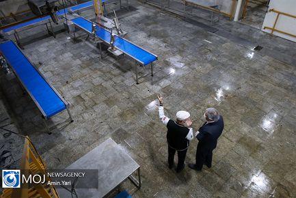 بازدید دبیر ستاد رفع موانع تولید کشور از شرکت گوشت و مرغ ری تیهو