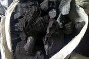 ۳۸ کیسه زغال چوب جنگلی بلوط در دلفان کشف شد