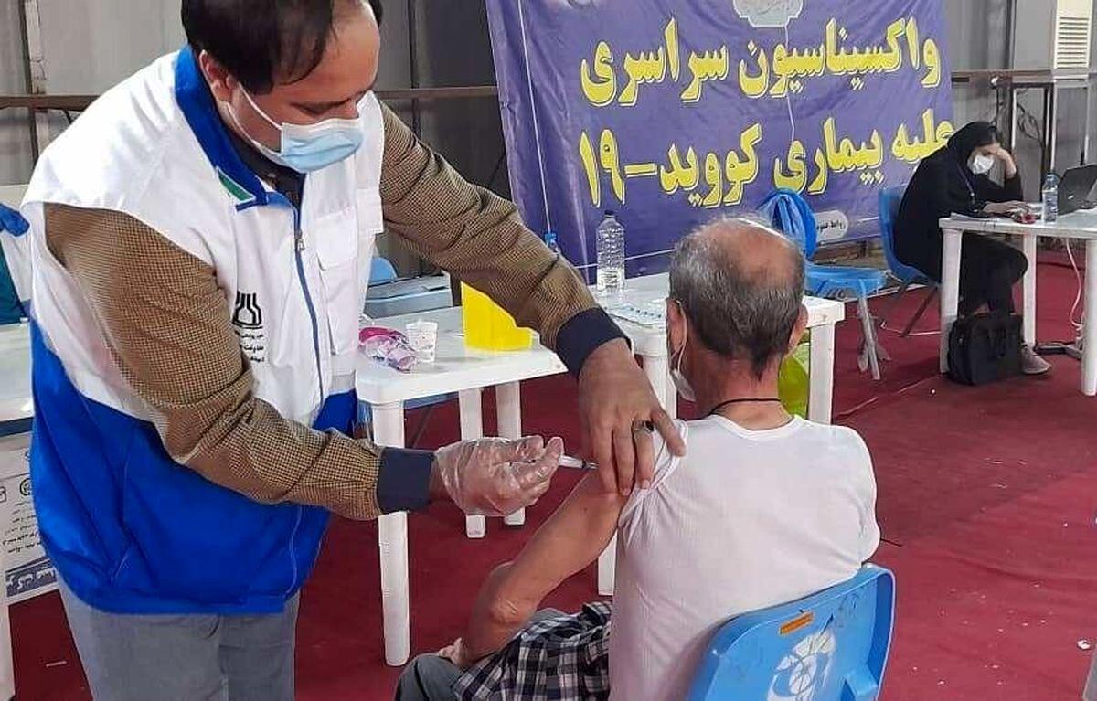 پوشش دز اول واکسیناسیون کرونا در کشور به 75 درصد رسید