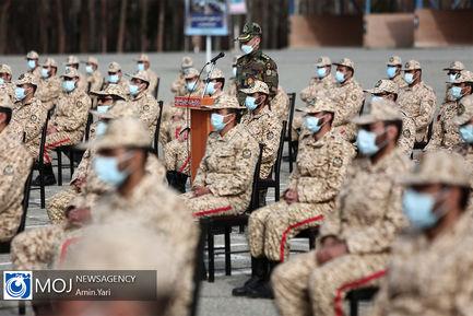 اختتامیه چهاردهمین دوره رزم مقدماتی دانشجویان نخبه ارتش