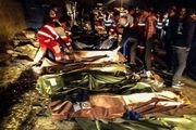 جزئیات واژگونی اتوبوس ولوو/ ۱۳ نفر کشته شدند