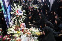 نخستین سالگرد شهید مدافع حرم بابک نوری هریس در رشت برگزار شد