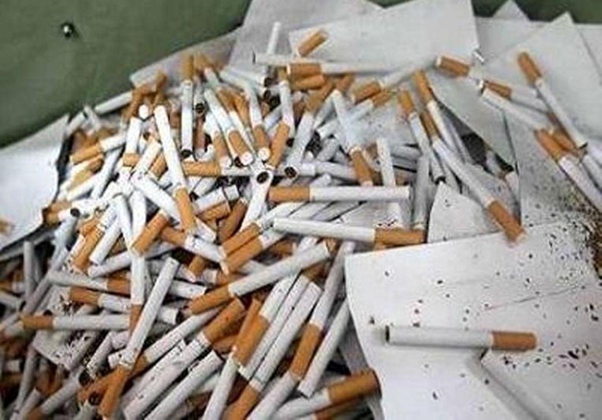 کشف 13 هزار نخ سیگارخارجی قاچاق در تیران وکرون