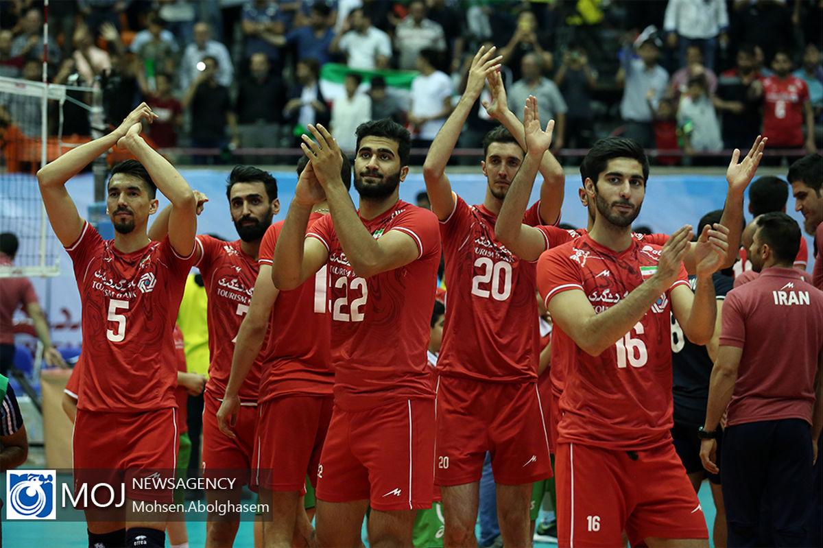 نتیجه بازی تیم ملی والیبال ایران و ایتالیا/ سومین برد متوالی ایران برابر میزبان