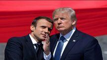 ترامپ و ماکرون درخصوص ایران و سوریه گفتگو کردند