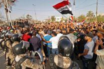 تظاهرات در عراق شدت گرفت/ ورود تظاهرکنندگان به منطقه سبز بغداد