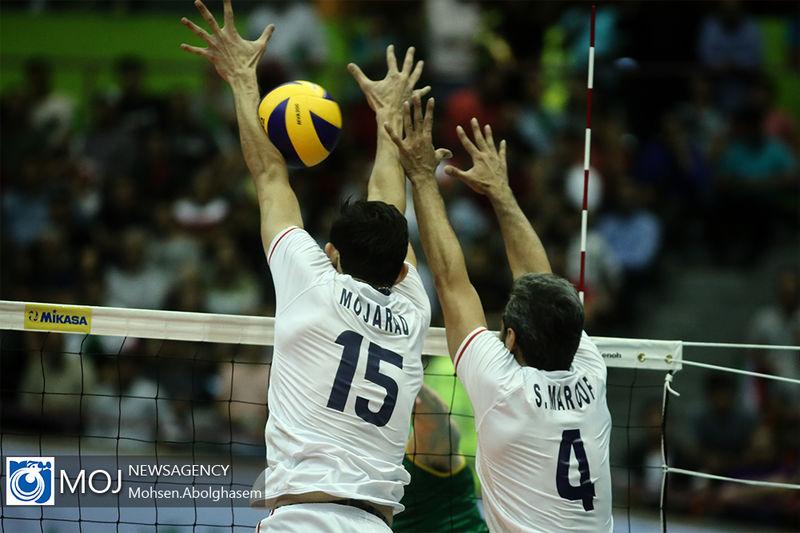گزارش بازی والیبال ایران و آمریکا/ ایران 1  آمریکا 3
