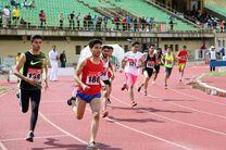 کردستان عنوان سوم مسابقات دو و میدانی منطقه ای کشور را به دست آورد