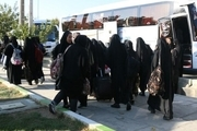 دانش آموزان دختر مهریزی به اردوی راهیان نور رفتند