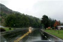 جاده چالوس لغزنده است/ پرهیز از سفرهای غیرضروری در جاده چالوس