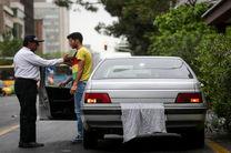 اجرای طرح 48 ساعته برخورد با خودروهای پلاک مخدوش