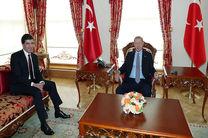 رجب طیب اردوغان با نیچروان بارزانی دیدار کرد