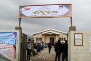 افتتاح مدرسه خیرساز در روستای بی سیم گاز تالش