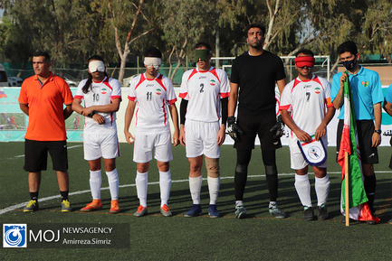 دیدار دوستانه تیم ملی فوتبال پنج نفره ایران و روسیه
